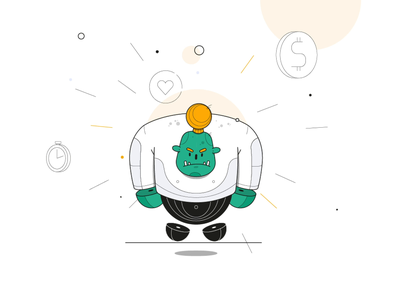 character animation for VWFS's onboarding animation concept fun creative app web aftereffects motion design character animation branding illustration design