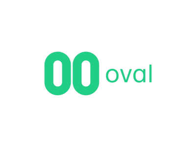 Our New Brand Identity ovalmoney oval app minimal animation branding typography design logo
