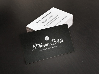 Business Card vcard business card hairdresser