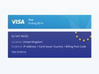 Order Cards + EU VAT MOSS