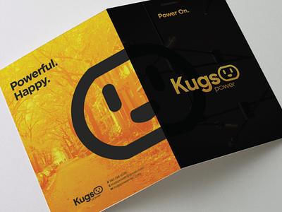 Kugs Power Logo & Brochure print identity brochure logo