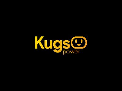 Kugs Power Logo electric mark identity logo