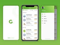 iOS Mobile App Design: Quick Maid