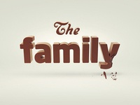 The family. Chocolate