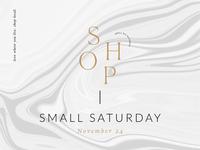 Shop Small Business Saturday Social Media Graphic