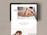 Boudoir Photography Website Design