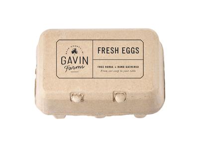 Gavin Farms Egg Carton Stamp