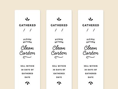 Fischer Family Farm Egg Carton Labels
