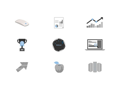 Fresh Icons data apple computer app uiux web vector website daily color icon illustration