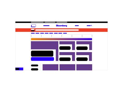 Bloomberg bloomberg uiux user flow mockup vector mock daily color website illustration