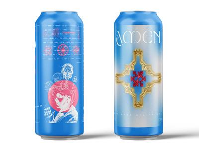 Beer Label christian logo christian occult esoteric symbolism illustration label design beer art beer label beer can beer