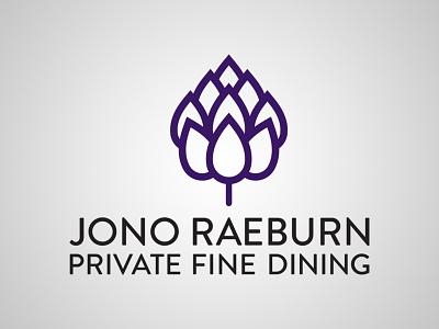 Jono Raeburn Logo food branding logo