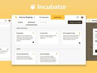 Incubator UI
