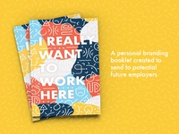 I Really Want to Work Here — Promotional Booklet