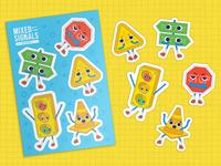 Mixed Signals Sticker Sheet