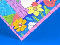 Daydream in Blue Detail
