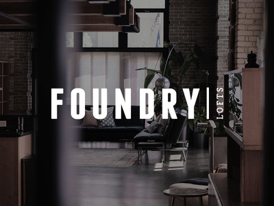 Foundry Lofts Logo logo