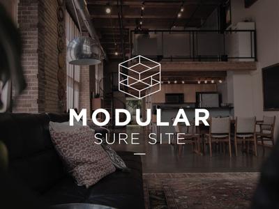 Modular Sure Site Logo logo