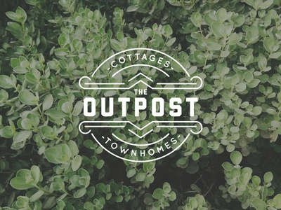 The Outpost Logo logo