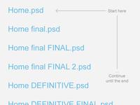 Traditional file naming