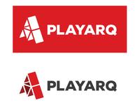 Playarq Logo fixed type