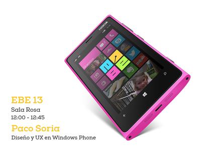 Windows Phone at the EBE windows phone ux ebe 13