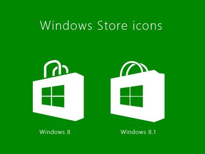 Windows Store Icons windows 8 8.1 store icon .ai vector download