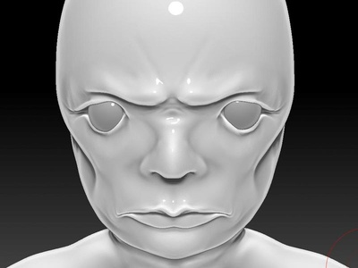 3D Alien 3d alien model zbrush illustration