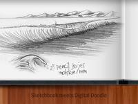 Sketchbook Meets Digital