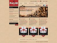 Palio Coffee store UI Design