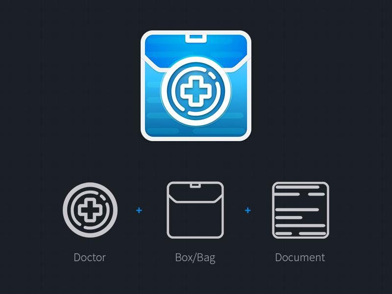 GPTOOLS Icon Design icon design doctors british ios app andriod