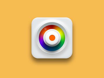Usable color Picker photoshop icon app picker color