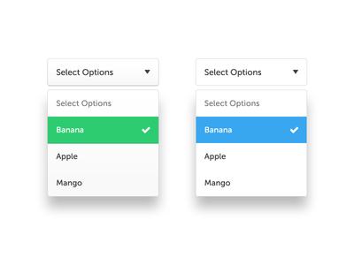 Dropdown select boxes input box options select dropdown