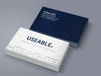 Business Card Design business card design business card blue