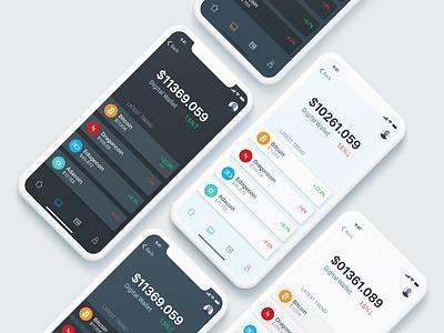Bitcoin Wallet App Concept bitcoin wallet bitcoin app digital wallet stats bitcoins bitcoin services bitcoin