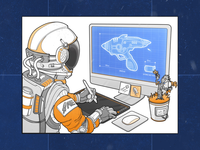 AE - Illustration Sprint #1 agileengine process web vector animation design illustration