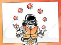 AgileEngine Illustrations [2019] figma character vector design web illustration