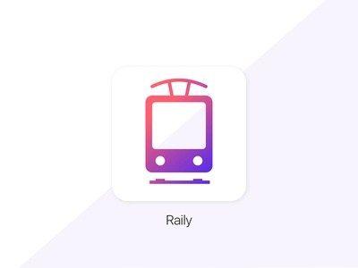 Daily UI #005 - App icon gradient icon app icon app train app train daily ui dailyui