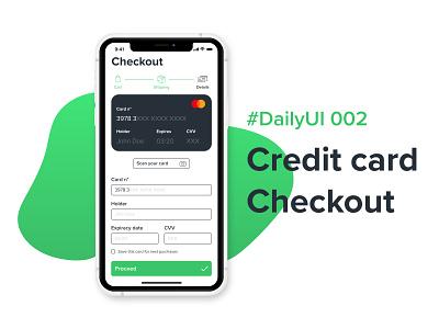 #DailyUIChallenge 002 - Credit card checkout mobile design mobile ui checkout process credit card checkout checkout form design dailyuichallenge dailyui 002 daiyui