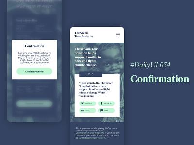 #DailyUIChallenge 054 - Confirmation mobiledesign uidesign confirm payment confirmation dailyui 054 dailyuichallenge dailyui