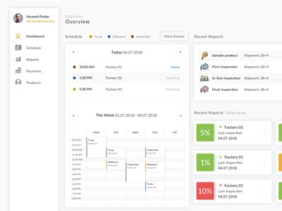 Concept - Dashboard App