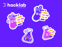 Stickers for hacklab