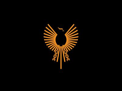 psychologist pheonix 1 symbol broken chain brand design brand ai logodesign logos logo chains chain line eagle sun pheonix