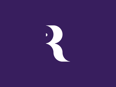 R paper roll r roll brand design brand identity brand paper sign logo design logodesign logo letter r