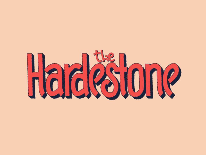 TheHardestone var 1 identity music logo design logodesign logotype logo lettermark lettering letters