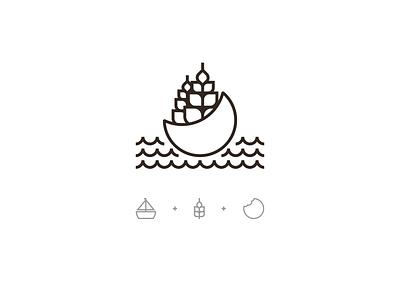 Oats  and boats 2 oats bakery eat boat cake brand identity branding brand logotype logo design logo