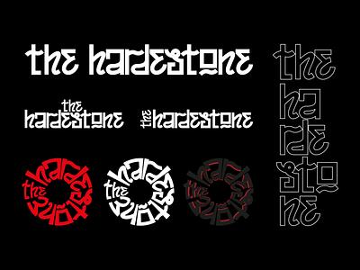 TheHardestone var 3 dj music hand drawn hand lettering handlettering lettering logodesign logo design logotype logo