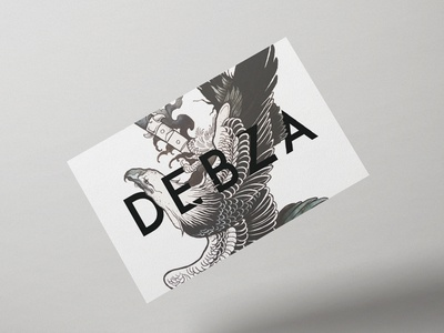 Business Card Debza Dribbble