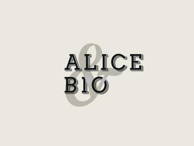 Logo Alice&Bio