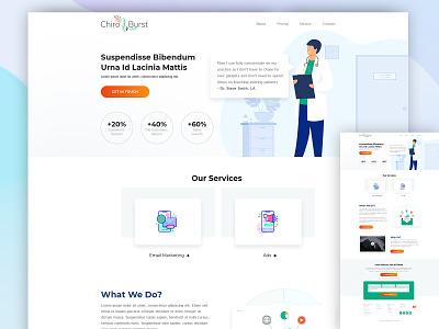 Marketing Agency lawfirm design webmockup weblayout index website landing home flat desktop ui ux